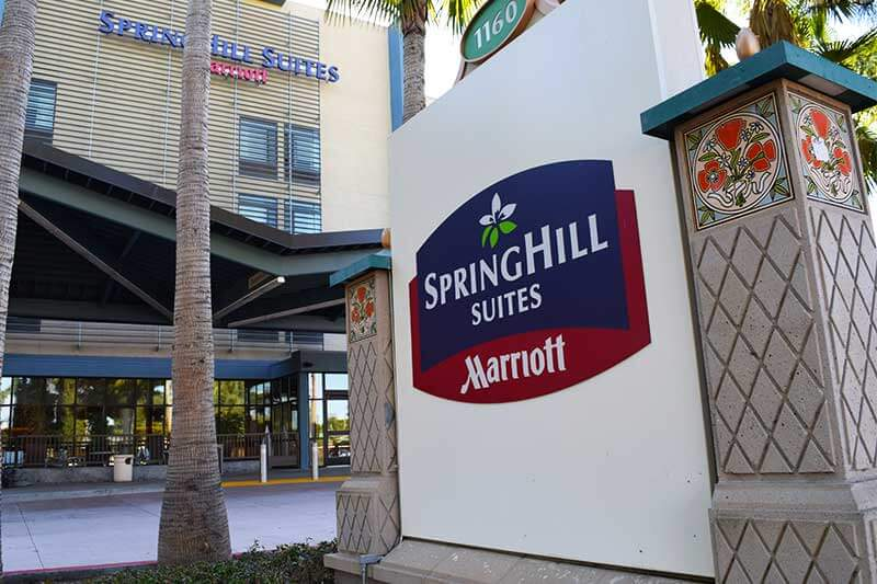 Best Los Angeles Hotels for Large Families - Springhill Suites Marriott