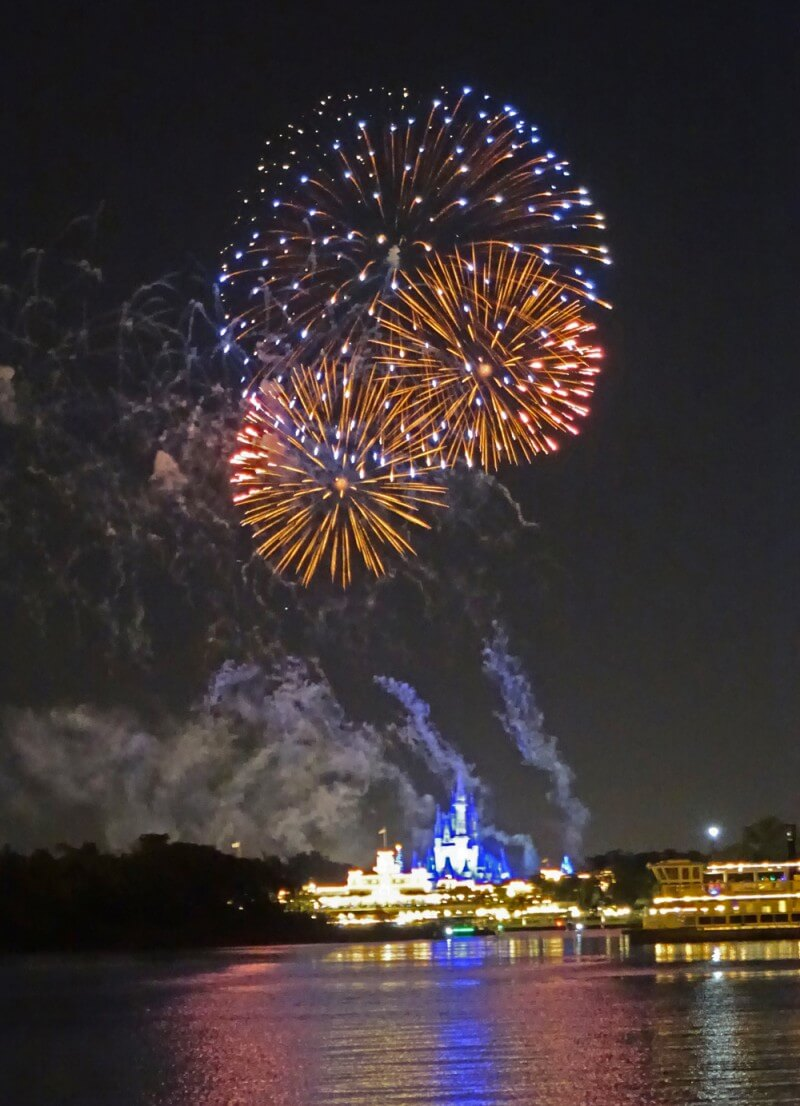 Holiday Crowds at Disney World - Fireworks