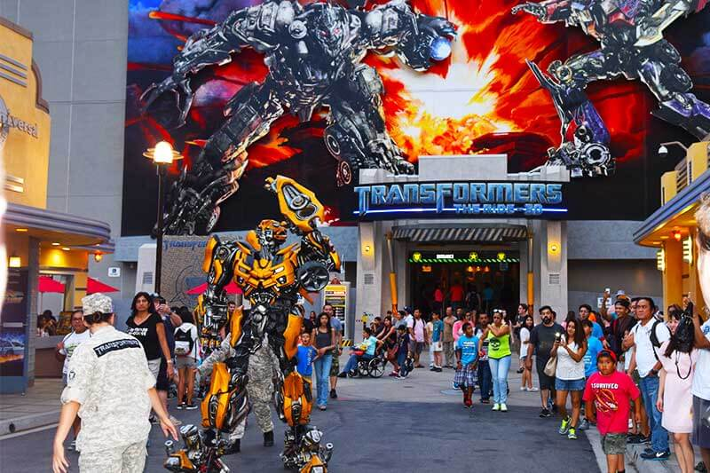 Tips for Going to Universal Studios Hollywood with Teens and Tweens - Transformers