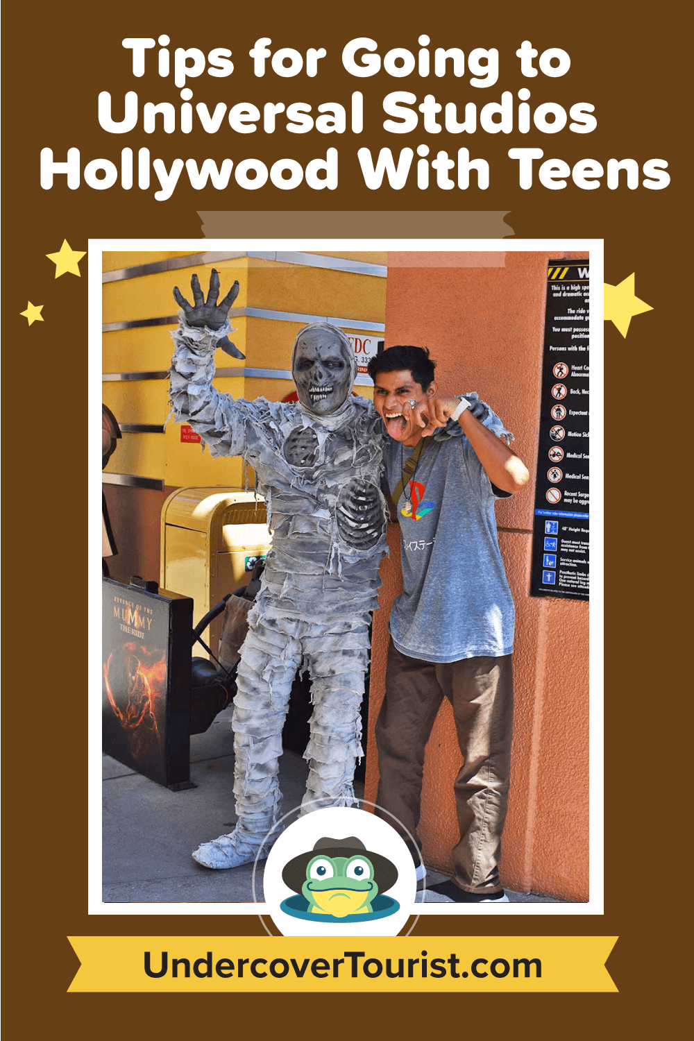 Tips for Going to Universal Studios Hollywood with Teens - Pinterest