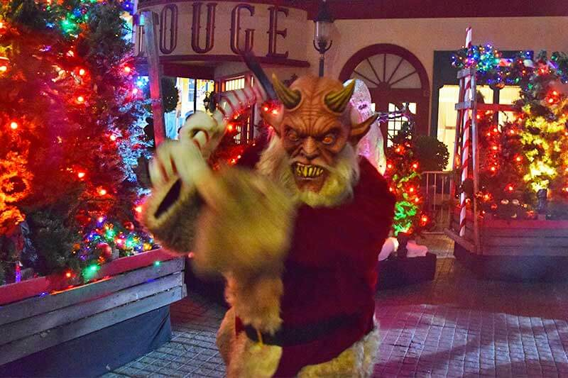 Halloween Horror Nights Hollywood Survival Guide-Christmas