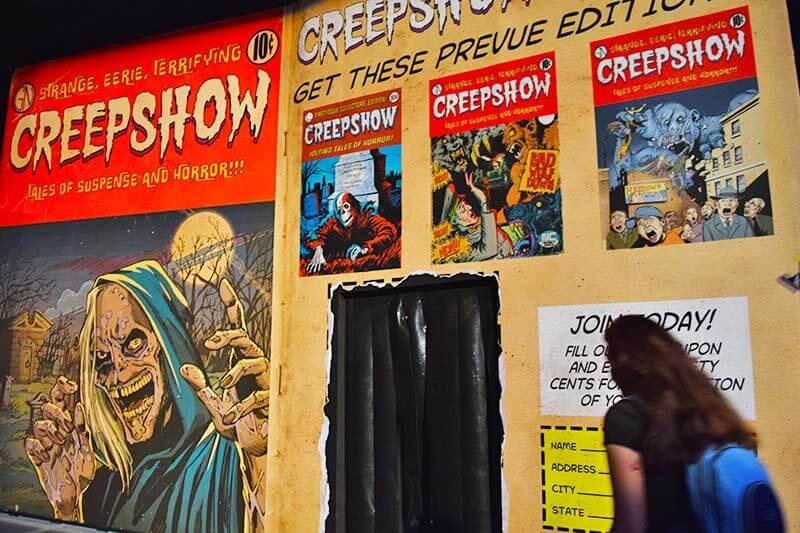 Halloween Horror Nights Hollywood Survival Guide-creepshow