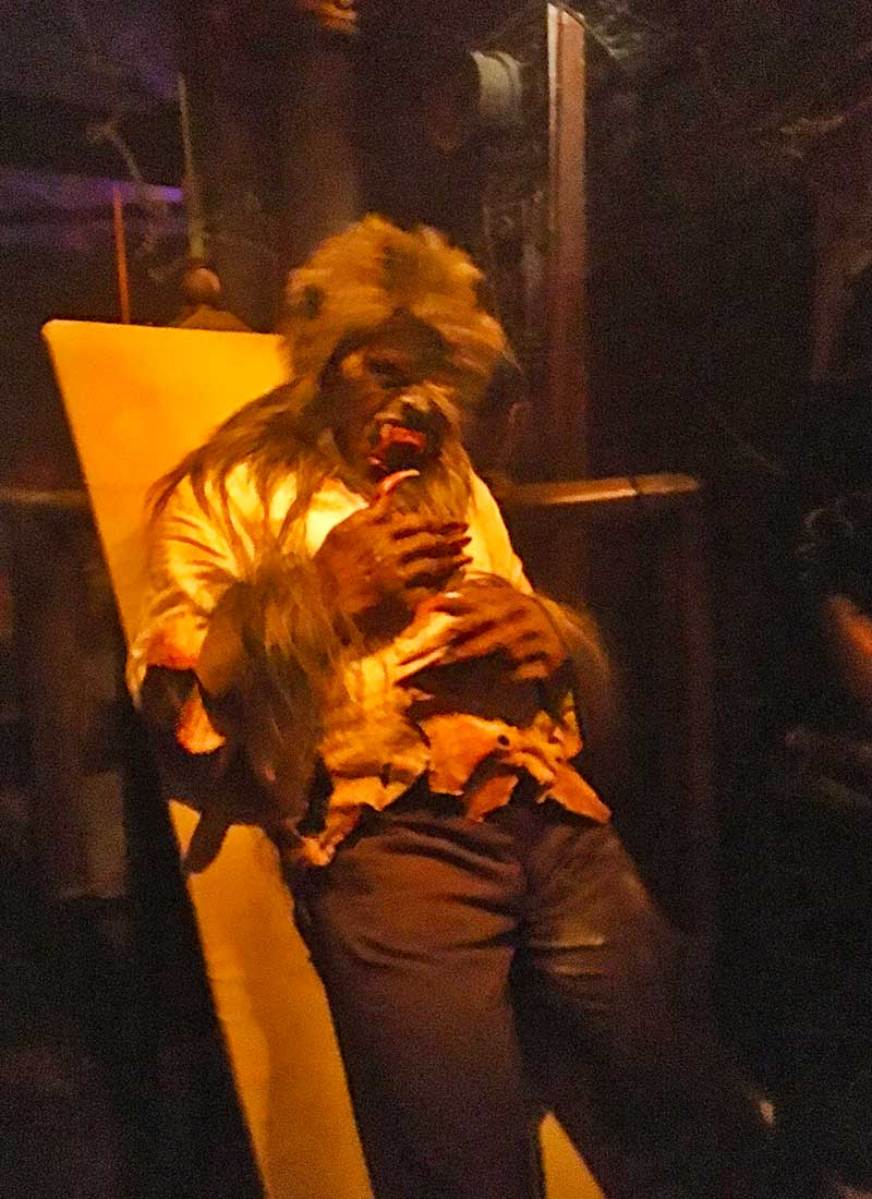Halloween Horror Nights Hollywood Survival Guide-wolfman