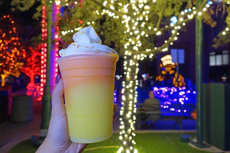 Halloween Horror Nights Orlando - Candy Corn Frozen Drink