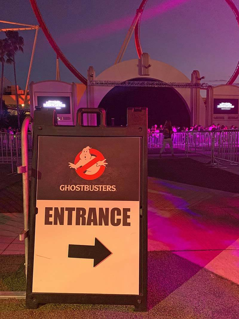 Halloween Horror Nights Orlando - Ghostbusters Entrance