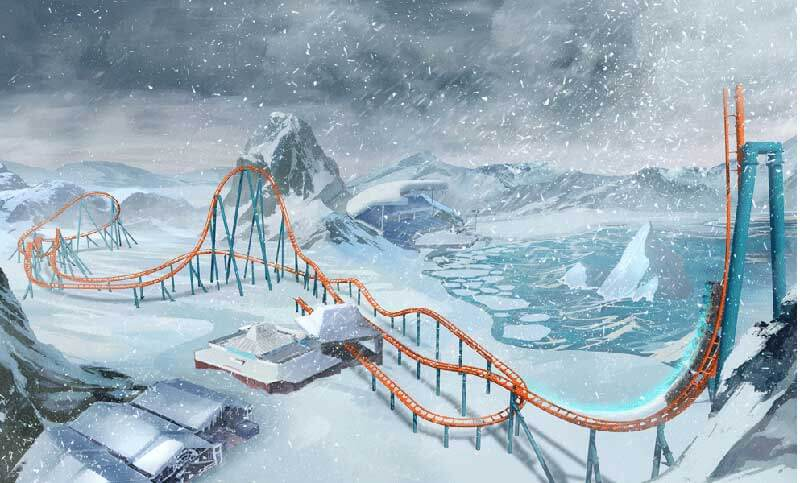 New Coasters Coming to SeaWorld Orlando and Busch Gardens Tampa Bay This Spring!