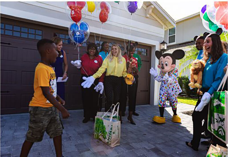 Mickey Surprises Good Samaritan Jermaine