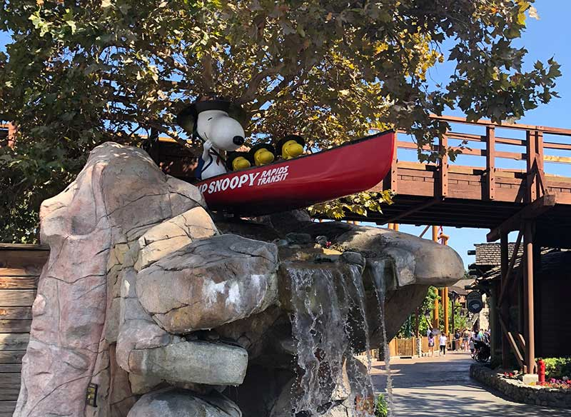 Camp Snoopy - Tips for Visiting Knott's Berry Farm with Kids