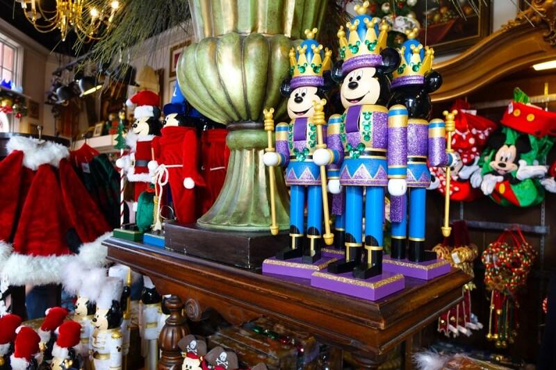Holiday Crowds at Disney World - Nutcracker Mickey