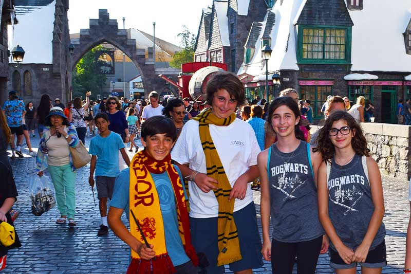 Traveling with Teens, Tweens and Older Kids - Theme Parks