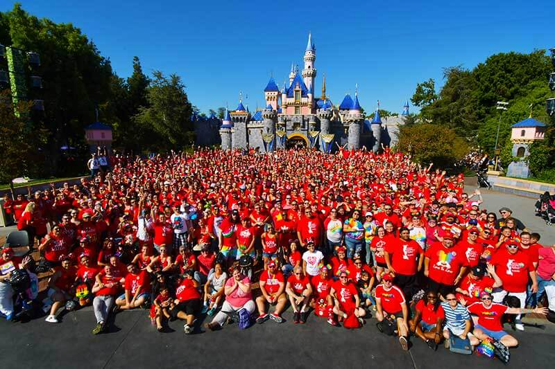 Everything You Need to Know for Disneyland Gay Days-group