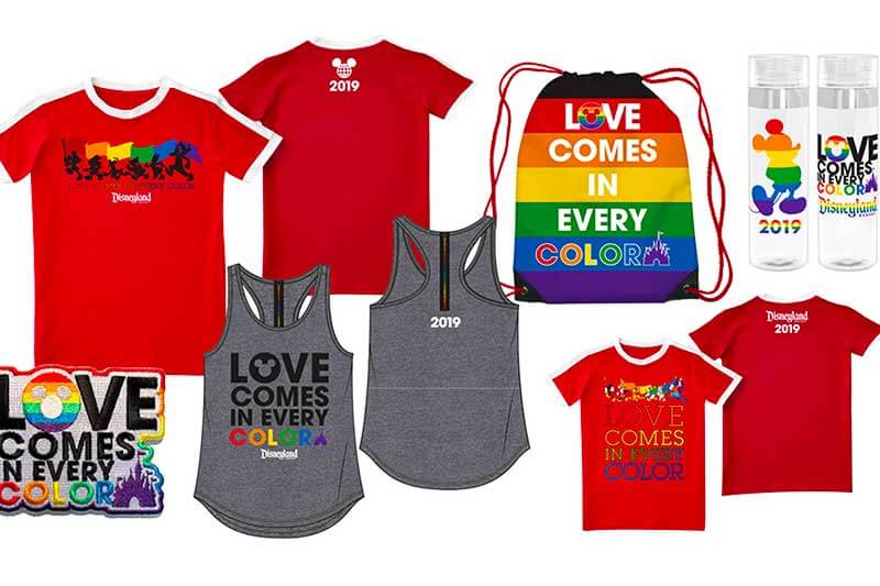 Everything You Need to Know for Disneyland Gay Days - Merchandise
