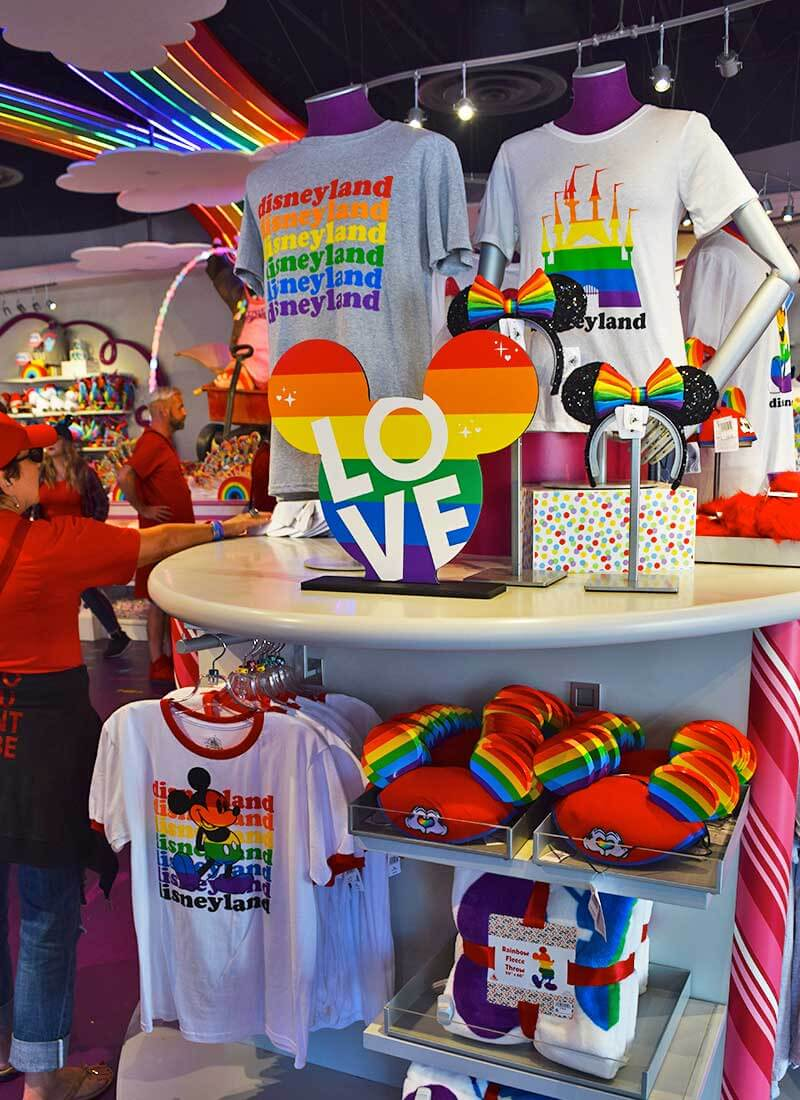Everything You Need to Know for Disneyland Gay Days - Merch