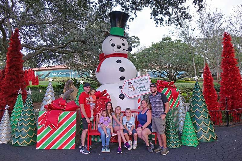 Our Complete Guide to SeaWorld Orlando's Christmas Celebration