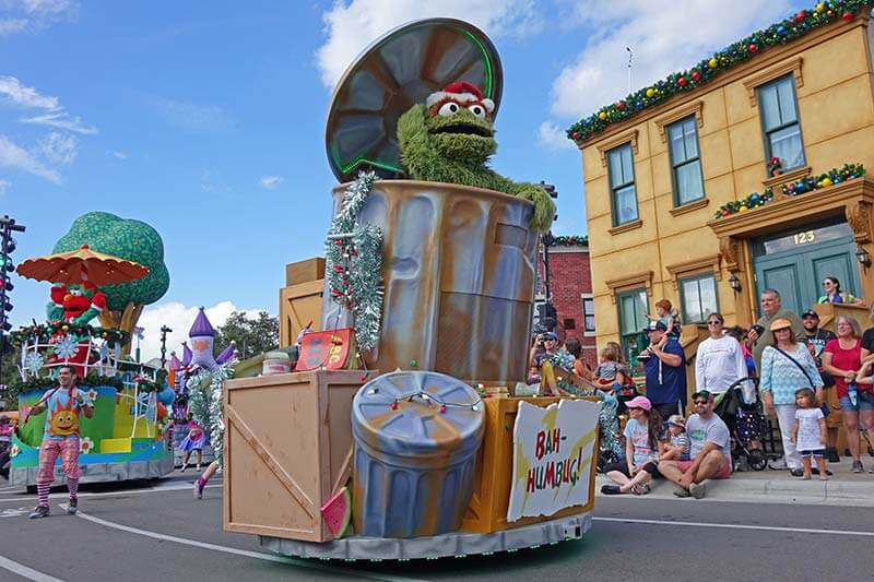 SeaWorld Christmas Celebration - Sesame Street Parade
