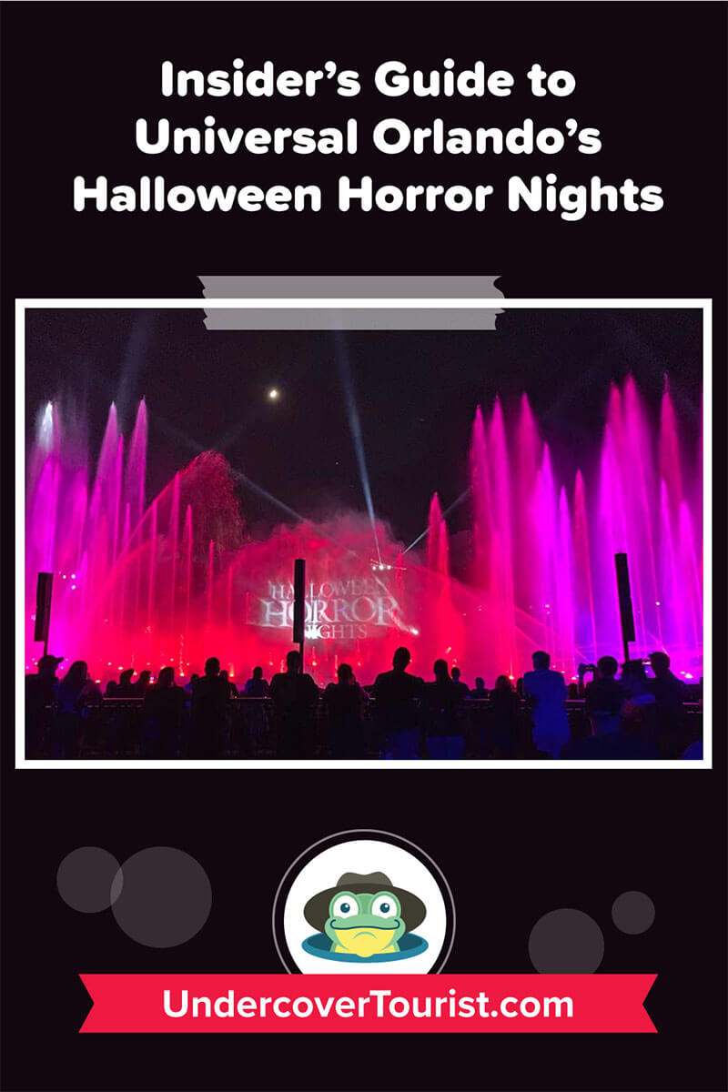 Halloween Horror Nights 2020 Express Pass Halloween Horror Nights Orlando 2020 Survival Guide