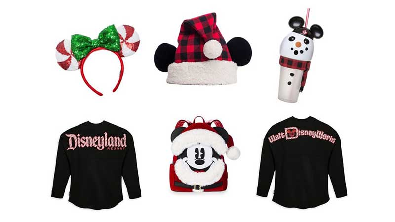 Holiday Merchandise at the Disney Parks