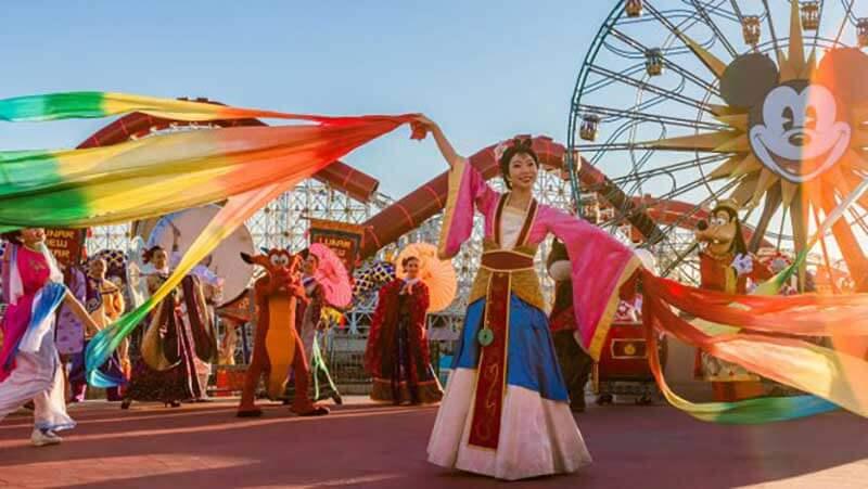 2020 Dates for Lunar New Year at Disney California Adventure