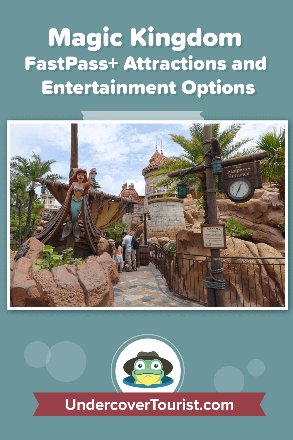 Magic Kingdom FastPass+ Attractions and Entertainment Options - Pinterest