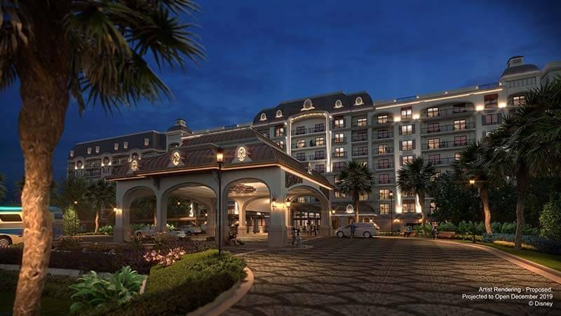 Disney's Riviera Resort - Entrance Concept Art