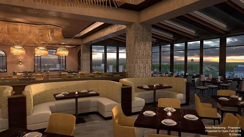 Disney's Riviera Resort - Topolino's Terrace Concept Art