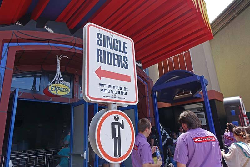 How to Navigate Single Rider Lines at Universal Orlando to Save Time