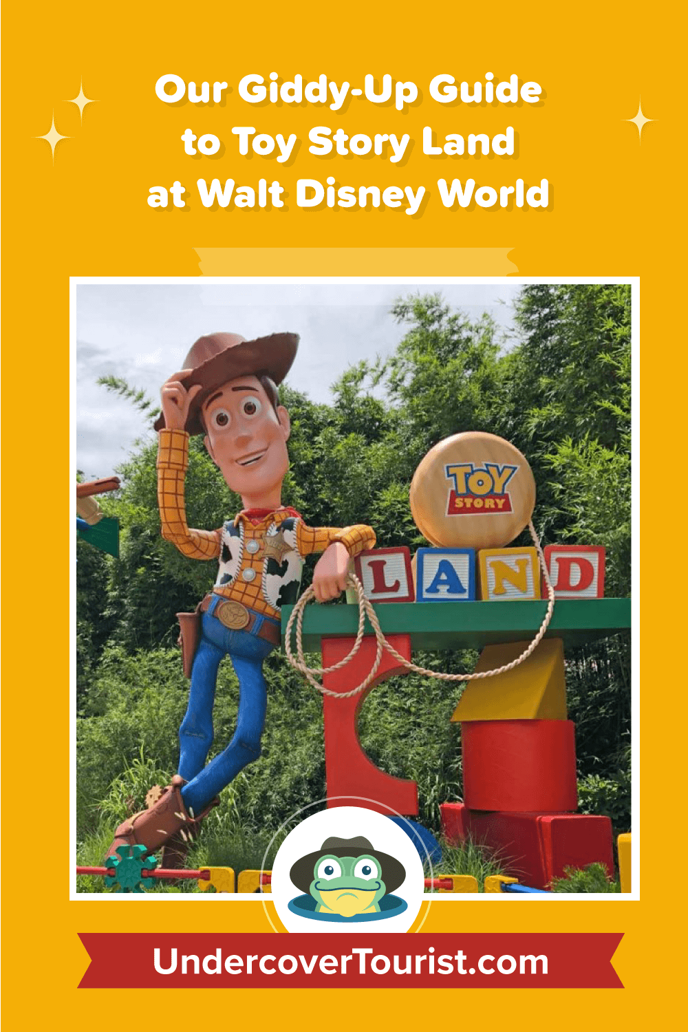 Guide to Toy Story Land - Pinterest
