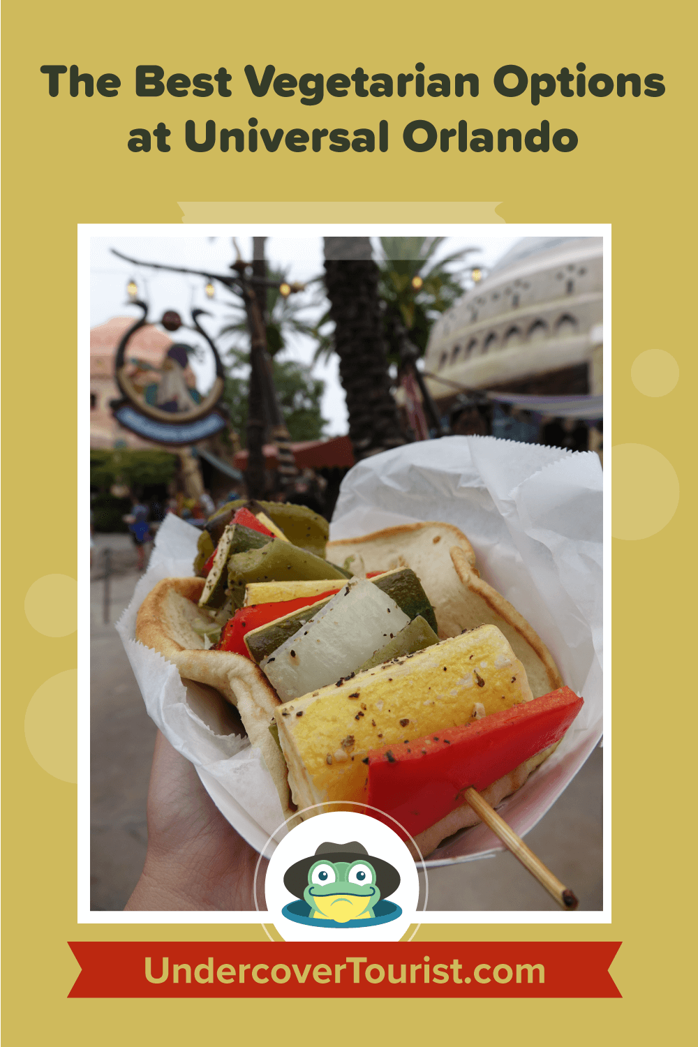 Best Options for a Vegetarian at Universal Orlando - Pinterest Image