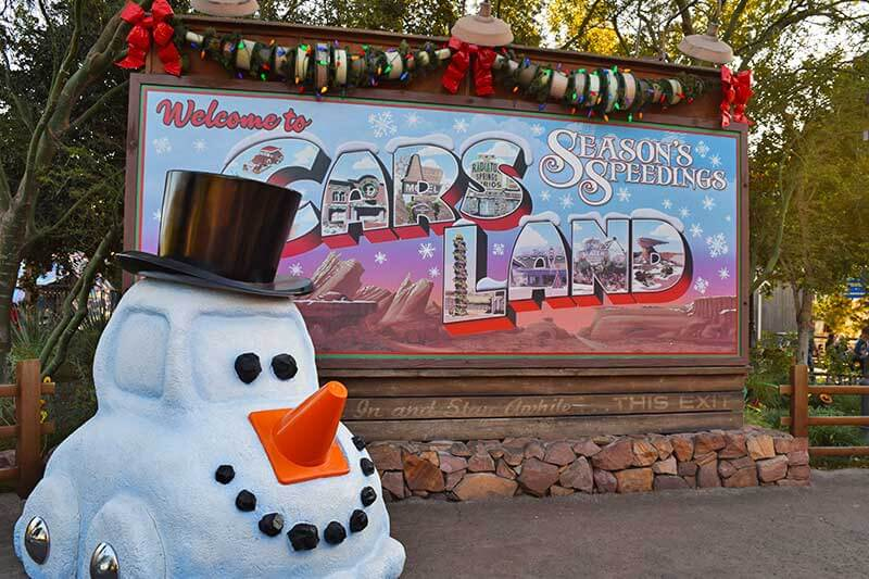 Guide to the Hoppiest Holidays at Disneyland 2019-cars