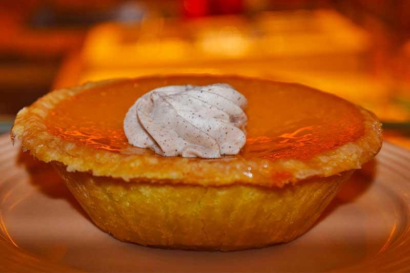 Thanksgiving Dining at Disneyland - Pumpkin Pie