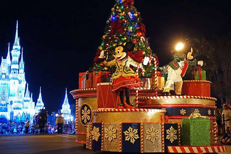 Guide to Disney World Events in 2020 - Mickey's Once Upon a Christmastime Parade