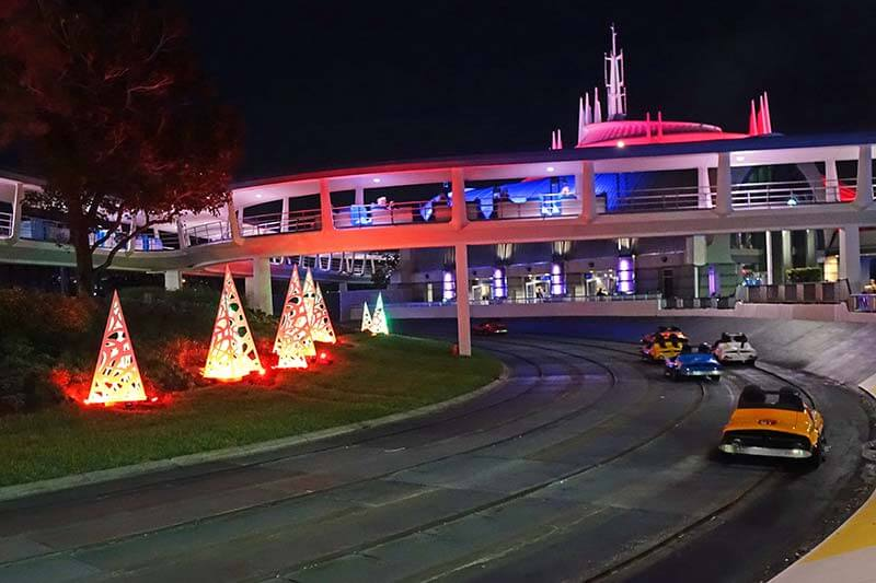 Mickey's Very Merry Christmas Party - Tomorrowland Speedway