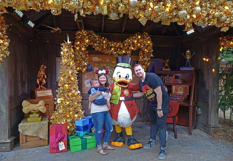 Animal Kingdom at Christmas Time - Scrooge McDuck