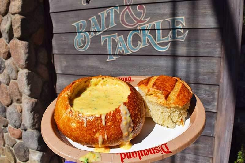 The Very Best Vegetarian Food at Disneyland Resort - Broccoli Cheddar