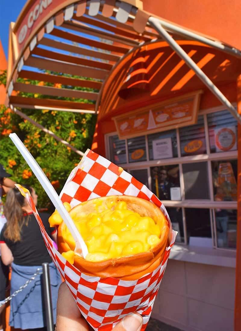 The Very Best Vegetarian Food at Disneyland Resort - Cone