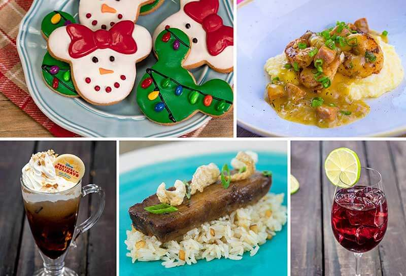 Disney Festival of Holidays Food