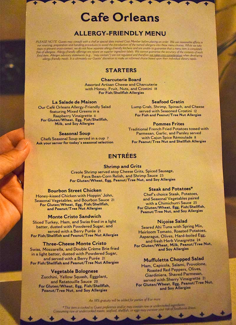 Toadally Tasty Guide To Dining Gluten Free At Disneyland Resort