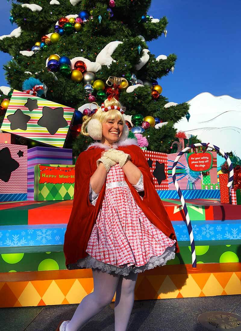 Guide to Christmas at Universal Studios Hollywood 2019 - Cindy Lou