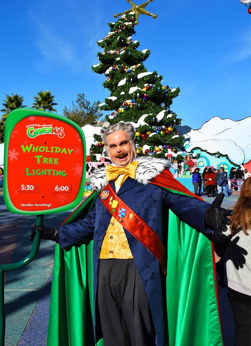 Guide to Christmas at Universal Studios Hollywood 2019 - Mayor of Whoville