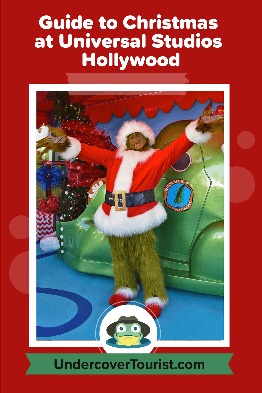 Guide to Christmas at Universal Studios Hollywood - Pinterest
