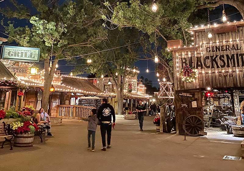Knott's Merry Farm Ghost Town