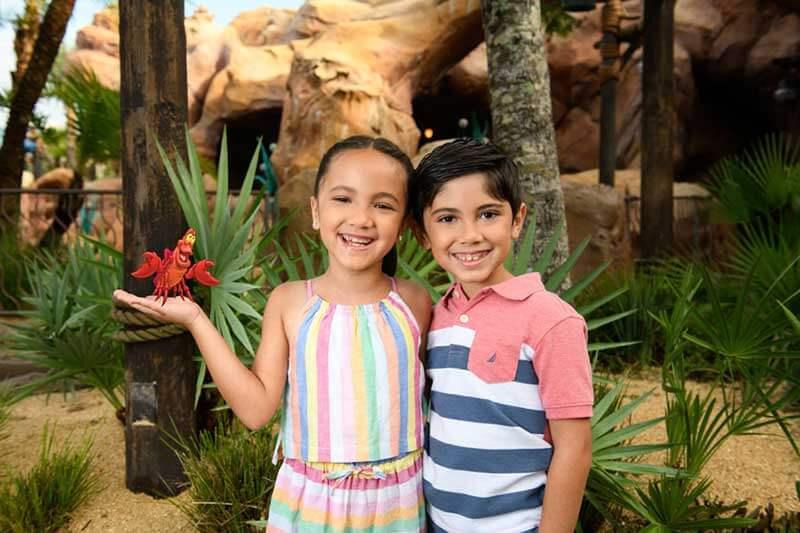 The Little Mermaid Photo Ops - Walt Disney World Resort