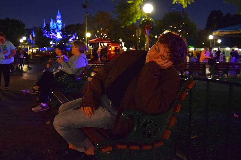 ∼Frogtastic∼ Places to Take a Disneyland Nap