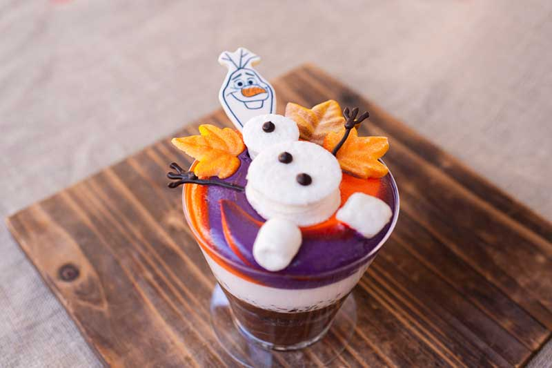 Olaf Hot Chocolate Cake