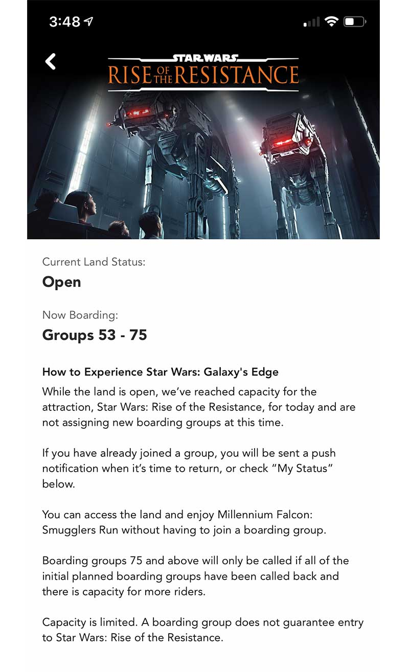 Our Galactic Guide to Star Wars: Galaxy's Edge at Disneyland - Status