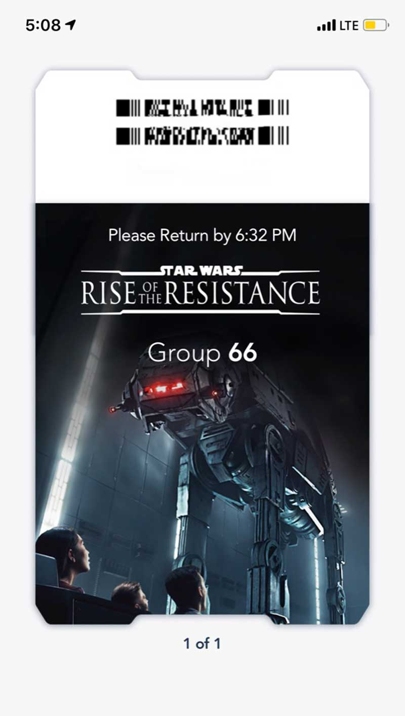 Our Galactic Guide to Star Wars: Galaxy's Edge at Disneyland - Pass