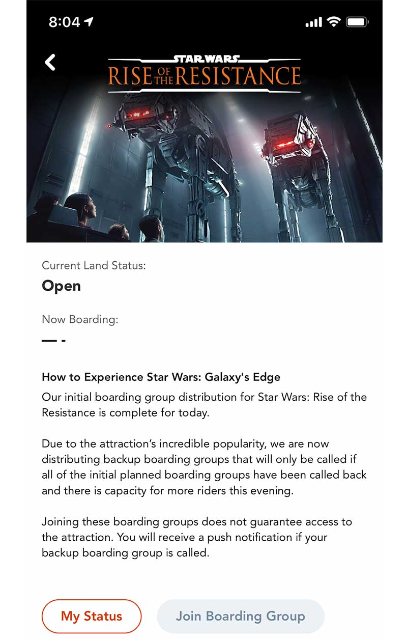 Our Galactic Guide to Star Wars: Galaxy's Edge at Disneyland - Join a Boarding Group
