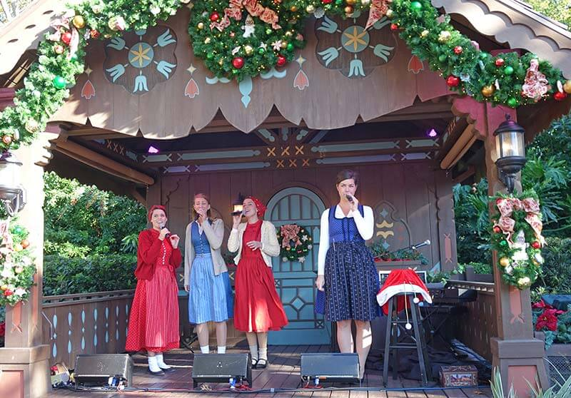 Epcot International Festival of the Holidays - Germany Vocal Group