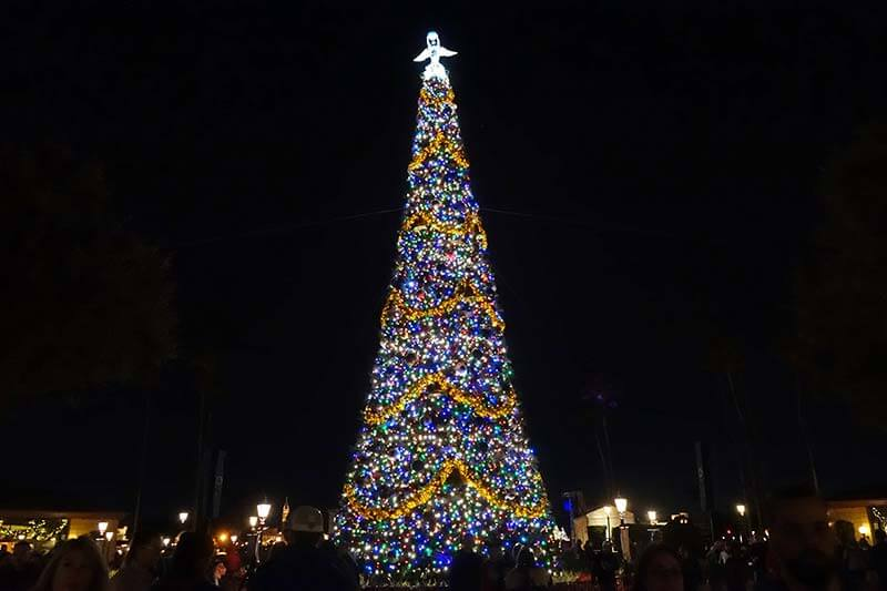 Epcot International Festival of the Holidays 2019 - Christmas Tree