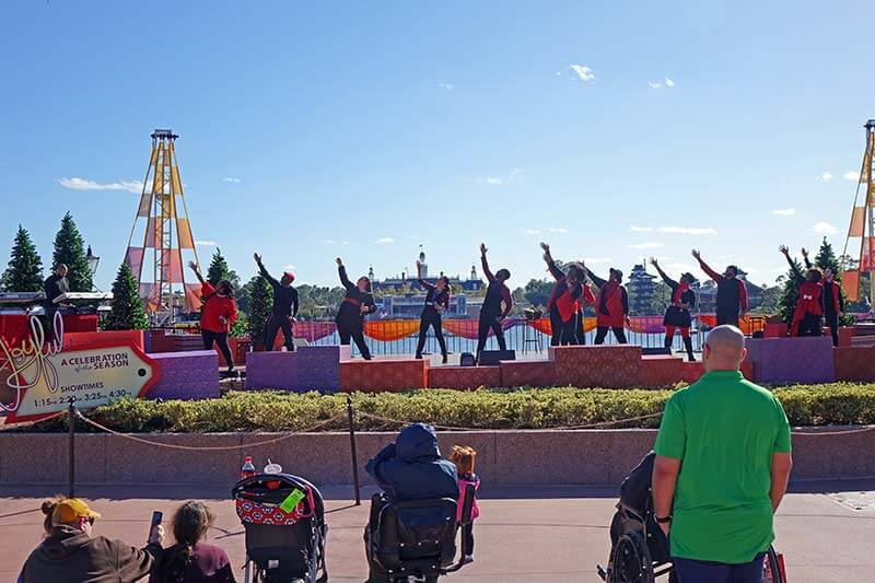 Epcot International Festival of the Holidays 2019 - JOYFUL! Concert